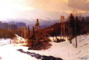 Долина Свидовець, 1960, п.о. 89х134