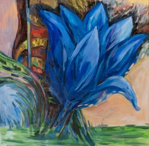 T. Ivanytska Blue Flower', 2018