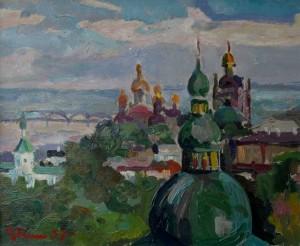 'Києво-Печерська лавра', 1957, 23х30.5