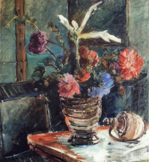 Still Life on the Background of the Window, 1940, oil on canvas, 57,5х53