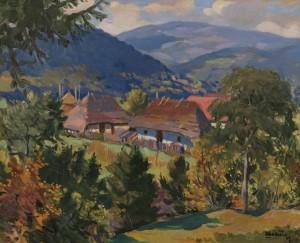 Шолтес З. 'Сільський пейзаж', 1960-ті