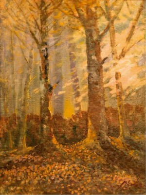Floodplain Forest, 1979, oil on canvas, 95x76