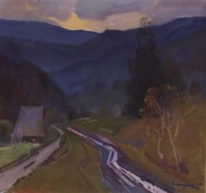 Доріжка, 1979, п.о. 65х69,5