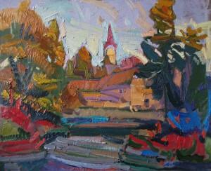 Вечоріє. Ужгород, 2010, к.о., 50х60