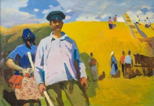 Harvest, 1959, oil on canvas, 83х117,5