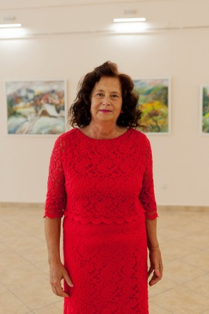 A retrospective exhibition of paintings by Krystyna Danko-Sholtes