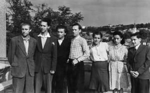 Габда В., Балла П., Заяць М., Кокодчук В., Кононець В., Кремницька Є., Микита В., Ужгород,1948