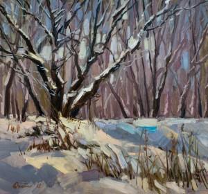 Дуленко Я. Зимові дерева