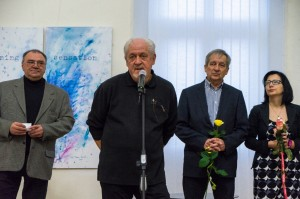 F. Erfan, M. Syrokhman, I. Didyk, I. Voitovych. EXHIBITION «Synthesis». Regional Art Museum named after. Y. Bokshai. 17.11.2017