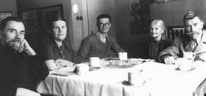 Фіала В., дружина Маріанна, син Владімір, мати Марія та батько Вацлав, 1938 (зліва направо)