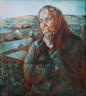 Grandmother Ann, 2002, oil on canvas, 66x56