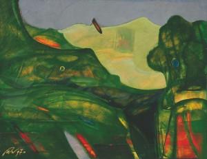 'Живописна весна', к.о., 67х87