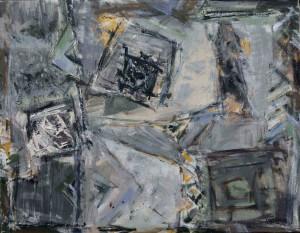 Hutsul Motif, 2012, acrylic on canvas, 70Х90