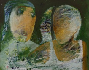 'Figures On Green', 1999