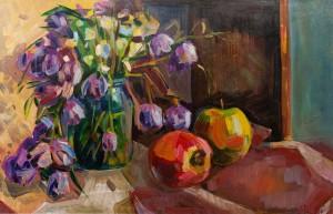"""Магей Я. """"Весняні квіти"""", 2017, п.о."""