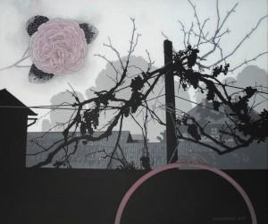 Осінній хамелеон, 2016, п.акрил, 50х60