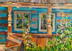 'A Blue Hut', 2012