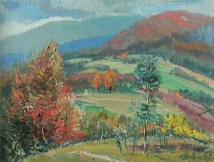 Осінні барви, 2008, п.о., 60х80