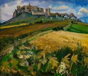 V. Svaliavchyk 'Spiš Castle'