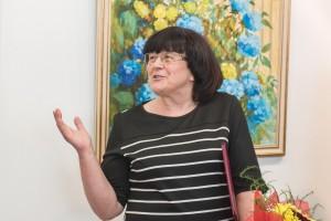 Ювілейна виставка Марії Митрик у галереї «Ужгород». 19.05.2017
