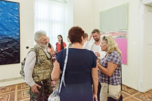 MIKHAILO DEYAK PRESENTED EXIBITION CREATION IN UZHHOROD