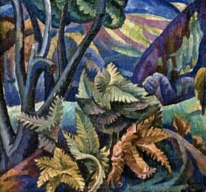 Папороть, 1981, п.о. 60х64
