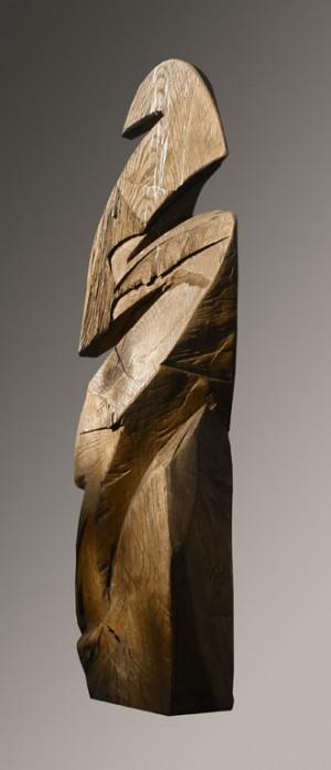 Зиг-заг, 2007, дерево, 2 м