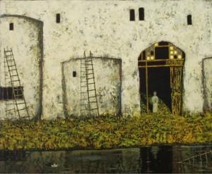 Канал. Жовта Вода, 2002, т.двп, левкас, жовткова емульсія
