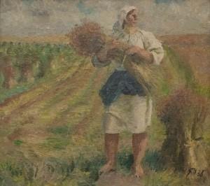 Яблонська Т. 'Льон', 1976
