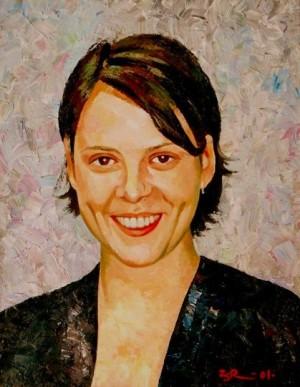 'Маша', 2001, 60х50