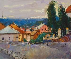 Taras Hodvan. Cityscape. 2016