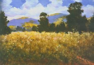 Літній пейзаж на Березнянщині