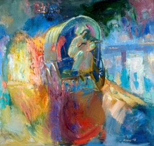 Evening Melody, 2006, oil on canvas, 60x65