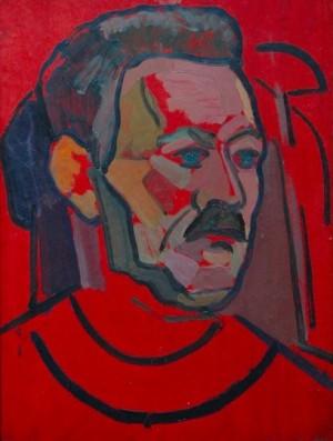 'Мій батько', 1957, 39.3х31