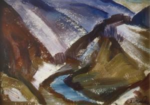 Останній сніг (Етюд), 1983