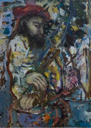 Маестро, 2002, к.о., 68х50