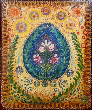 I. Krasnovska-Kaftan ' Blossomed Pysanka's Prayer'