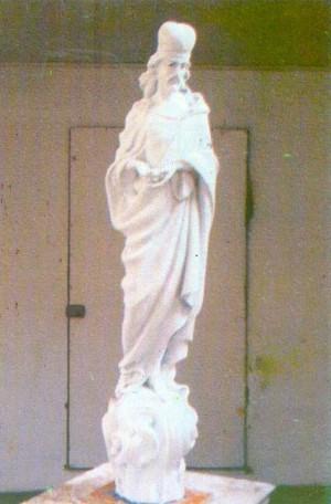 Ісус, 2003, гіпс, 100х12х12