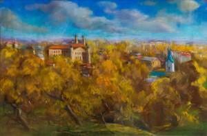 Мигович В. Осінній Ужгород, 2017