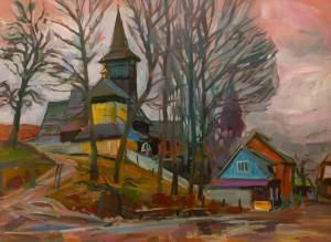 Вовчок В. 'Церква в Негровці', 2015