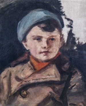 Childrens Portrait, 1960s, oil on canvas, 33x27