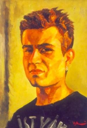 'Мій син Іштван', 2000, 70х50