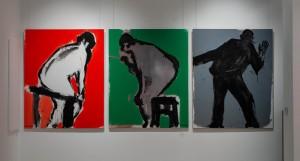 Габда Влад Триптих 'Автопортрет'. 'Піктор', 2018, п.акр., 150х120
