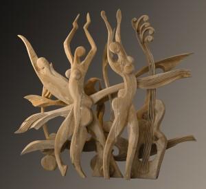 Культура, 2009, дерево, 2,5 м