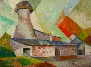 Mill', 1992, 60.5х84
