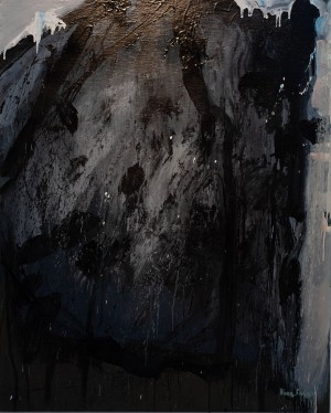 Габда Влад Триптих 'Автопортрет'. 'Відліт'. 'Піктор'. 'Маніпулятор', 2018, п.акр., 150х120