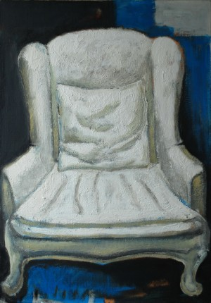 My Armchair, 2013, oil on canvas, 100x80