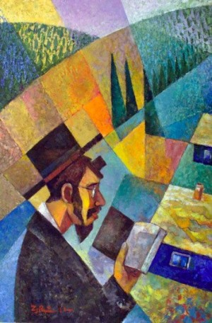 A Young Hasid', 2011, 100x70