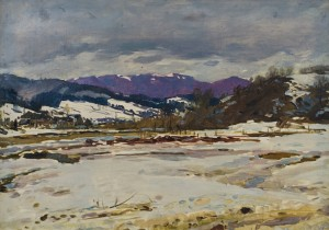 Winter day, 1955