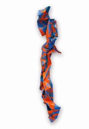 M. Deyak. Dancer, 2017, colored metal, 170 cm